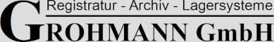 Grohmann GmbH Registratur – Archiv – Lagersysteme Logo